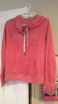 Pink crew neck Reebok sweater Lloydminster (Part), S9V