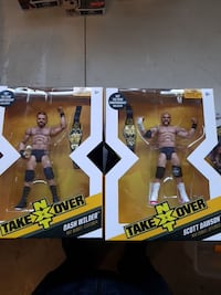 Take NXT Over action figure boxes