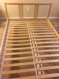 Ikea bed with mattress, good condition, move out sale