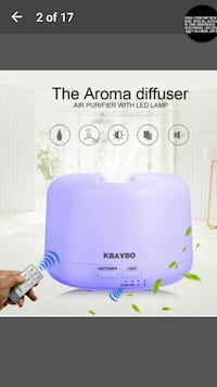 Humidifier with Aroma Therapy  Bethany, 73008