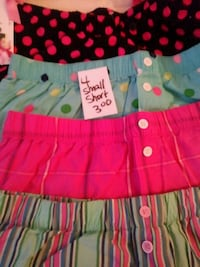 girl's pink and blue skirt 644 mi