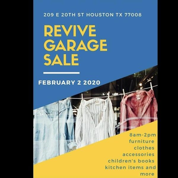 LetGo Garage Sale Sunday Feb 2 at Revive Salon in the Heights
