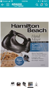 brand new hand mixer Bellevue, 98005