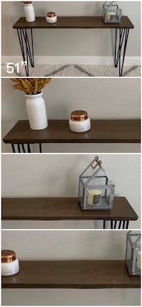 Solid Wood Live Edge Console Table Tables Stand Stands Dining