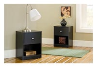 2 black nightstand Bethesda, 20894