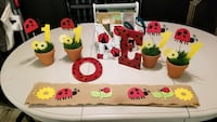Ladybug Theme Party Decorations for 1 yr old