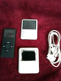 Ipods 8/4 gig loaded w music