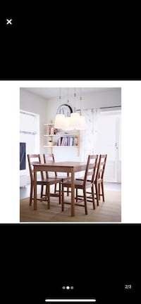 IKEA Dining Set Table + 4 chairs