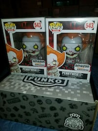 pennywise Amazon exclusive funko pops $35 EACH (FI Toronto, M1L 2T3