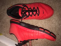 Pair of red-and-black nike basketball shoes Salisbury, 21801