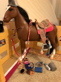 Toy Horse -American Girl Doll Brand St. Petersburg