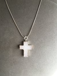 silver-colored cross pendant necklace Paxtang, 17104