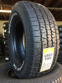 We Sell a full set of four Used Tires 225/70R14 Bfgoodrich Radial T/A Beaumont, 92223