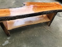 Live edge wild cherry bench Cartersville, 30120