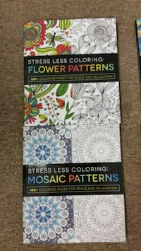 NEW Adult Coloring Books Streamwood, 60107