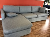 New Modern Grey Sectional Virginia Beach, 23462