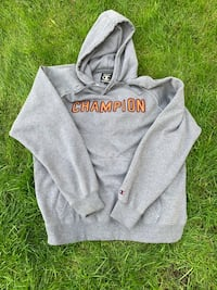 Throwback retro Men's Champion sweater hoodie holy cow Kelowna, V1X 7C3