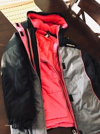 black and red zip-up jacket Lake Worth, 33467