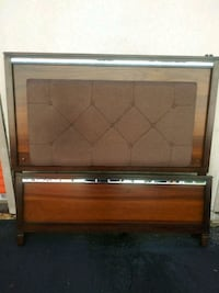 *Need gone asap* brown  wooden headboard/Footboard Norfolk, 23513