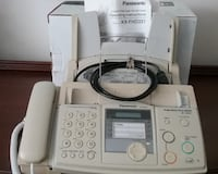 FAX-COPIER-PHONE -- Panasonic KX FHD 331 -- Plain Paper FAX - Like New GAITHERSBURG