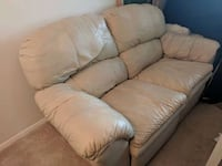 brown leather 3-seat sofa Bethesda, 20814