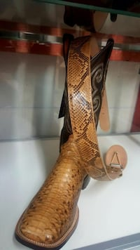 Men's Authentic Rattlesnake Boots W/Matching Belt  Sugar Land, 77498
