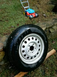 Tire and wheel,,,,p195/75/R15,,,,25 dollars Front Royal, 22630