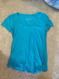 women's blue scoop-neck shirt San Diego, 92154
