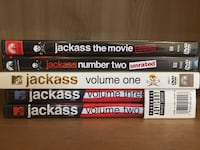 Jackass DVDs Set Vaughan, L6A 1S6
