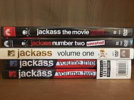 Jackass DVDs Set