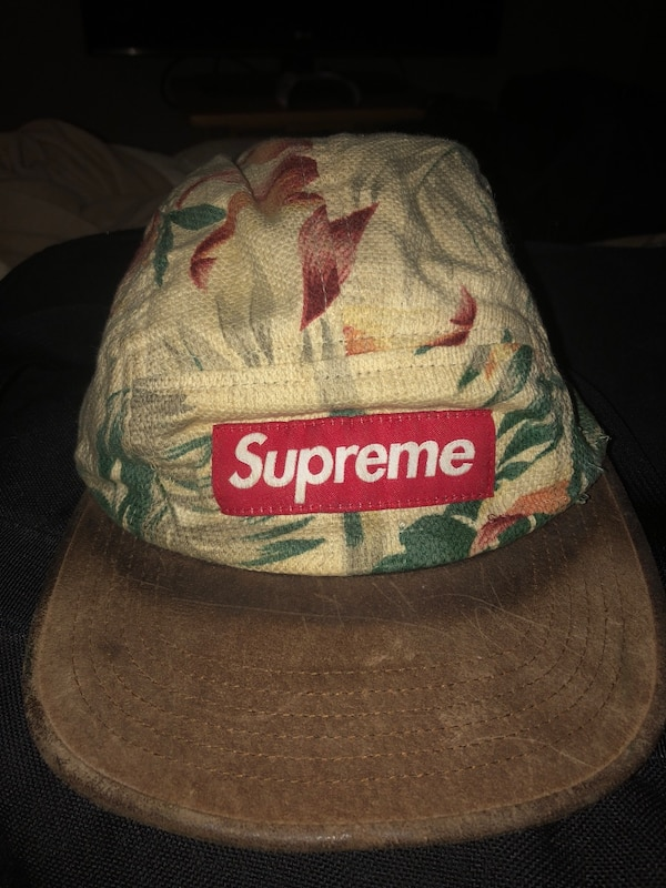Used Supreme floral camp cap for sale in Indianapolis - letgo 0710aa6c0c2