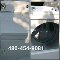 white front-load clothes washer Phoenix, 85008