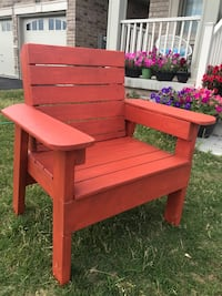 Solid wood patio chair Brampton, L6V