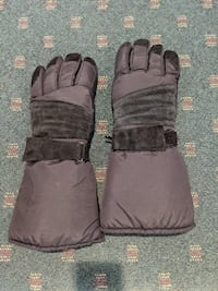 THINSULATE WATERPROOF XL SNOW MOBILE GLOVES