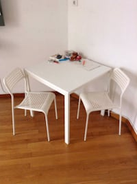 Desk + 2 chairs + small table Pireas, 185 39