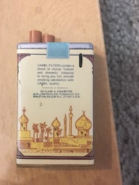 Vintage Camel Advertising Zippo Lighter Alexandria, 22306