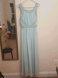 Teal long prom dress Fairfax, 22032