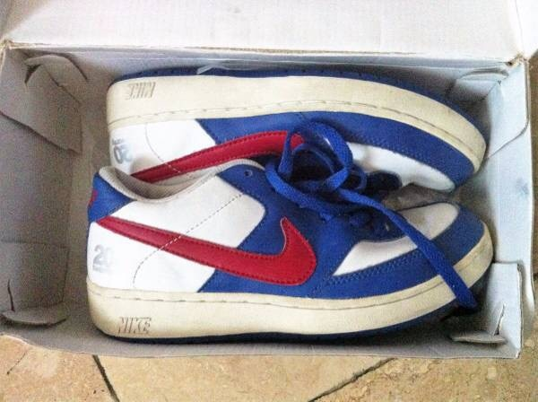 5dc0afc0cb9 Used Nike Basketball Shoes - Twenty20 Leather Mid Sneakers - Pre-Owned for  sale in Hawthorne - letgo