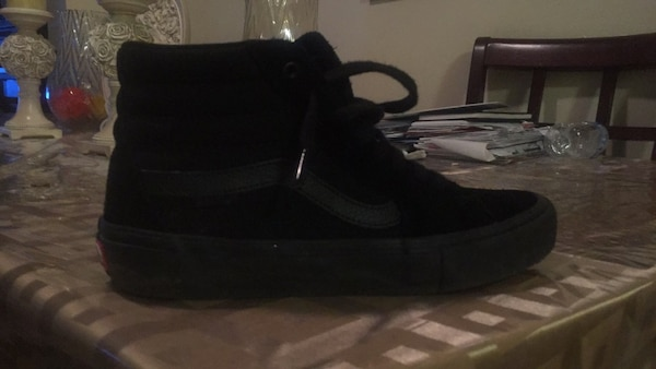 7a905e2e5a8559 Used All black sk8-Hi vans in pro s for sale in New York - letgo