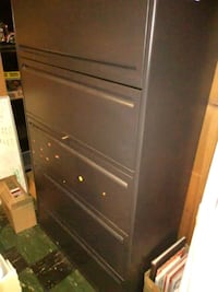 5 drawer file cabinet has key Loveland, 80537