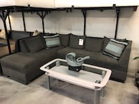 Grey Sectional Sofa Miami Springs
