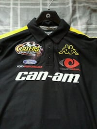 Can-am racing shirt brand new don't want. Kamloops