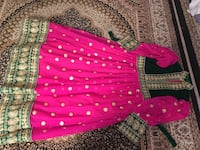 Pink and green beautiful afghani clothes(brand new) Toronto, M1G 1R7