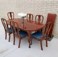 TRADITIONAL DINING TABLE & 6 CHAIRS cheap deliver! Frisco, 75034