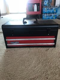 black and red Craftsman tool chest South San Francisco, 94080