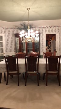 "Dining room trio, ""Ethan Allen"" collection, paid $6500, for sale at $2500 Happy Valley, 97086"