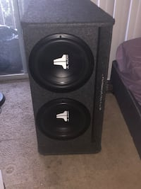 black JL Audio subwoofer speaker Kent, 98031