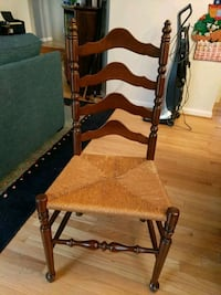 5 tall back Ethan Allen chairs and one end chair.  McLean, 22102