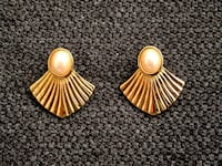 Vintage Marcella pierced earrings 14k gf Surrey, V4N 0L4