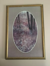 """Painting picture wall hanging, 27"""" wide x 40"""" high,excellent condition"""